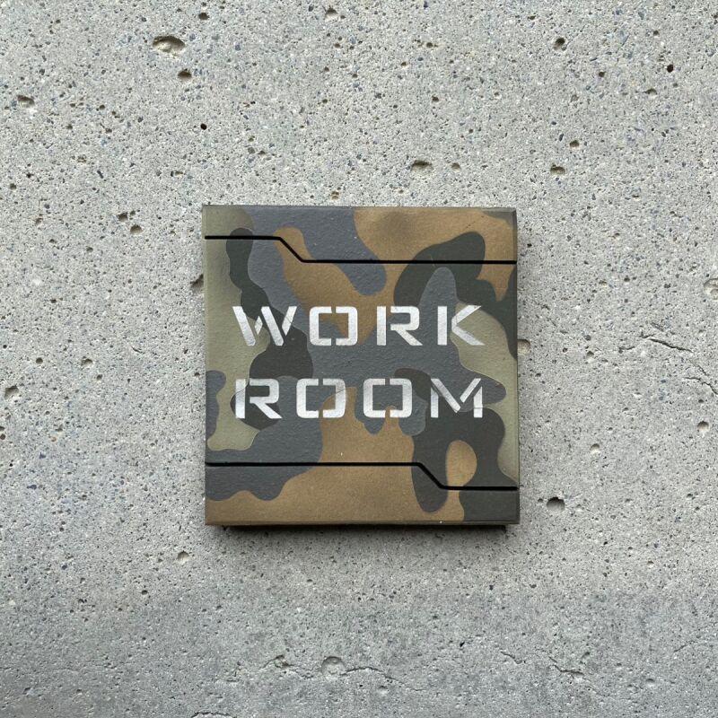 画像1: 迷彩柄【WORK ROOM】 (1)