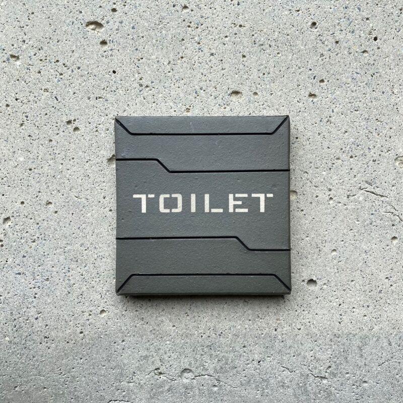 画像1: ロービジ迷彩【TOILET】 (1)