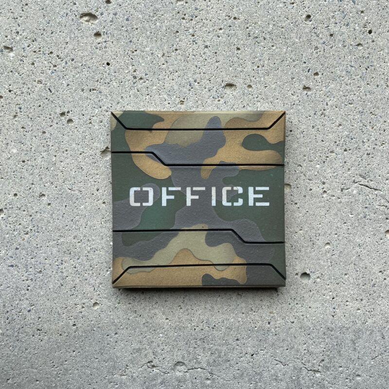 画像1: 迷彩柄【OFFICE】 (1)