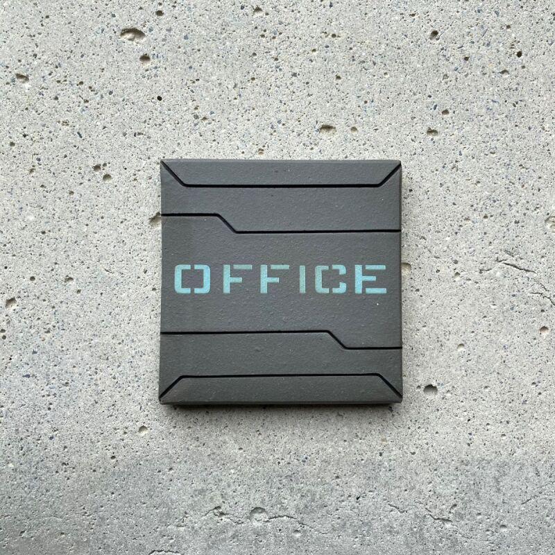 画像1: ロービジ迷彩・ブルー【OFFICE】 (1)