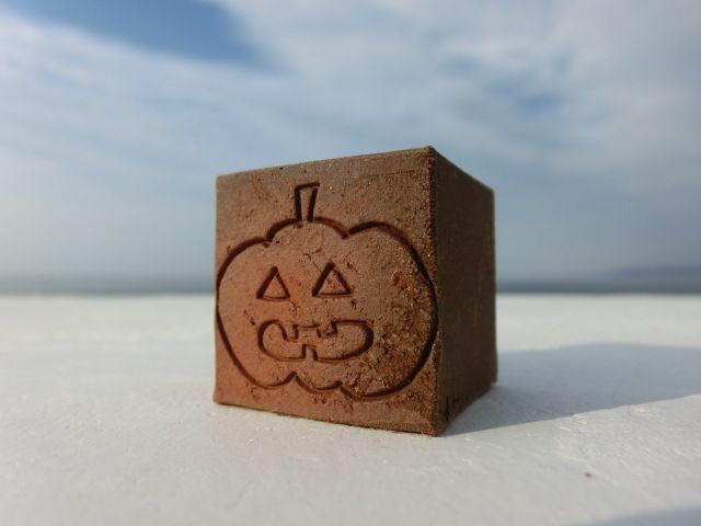 画像1: キューブ煉瓦[Halloween-1] (1)