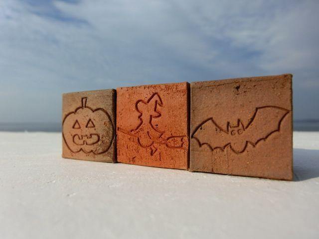 画像1: キューブ煉瓦[Halloween-set] (1)